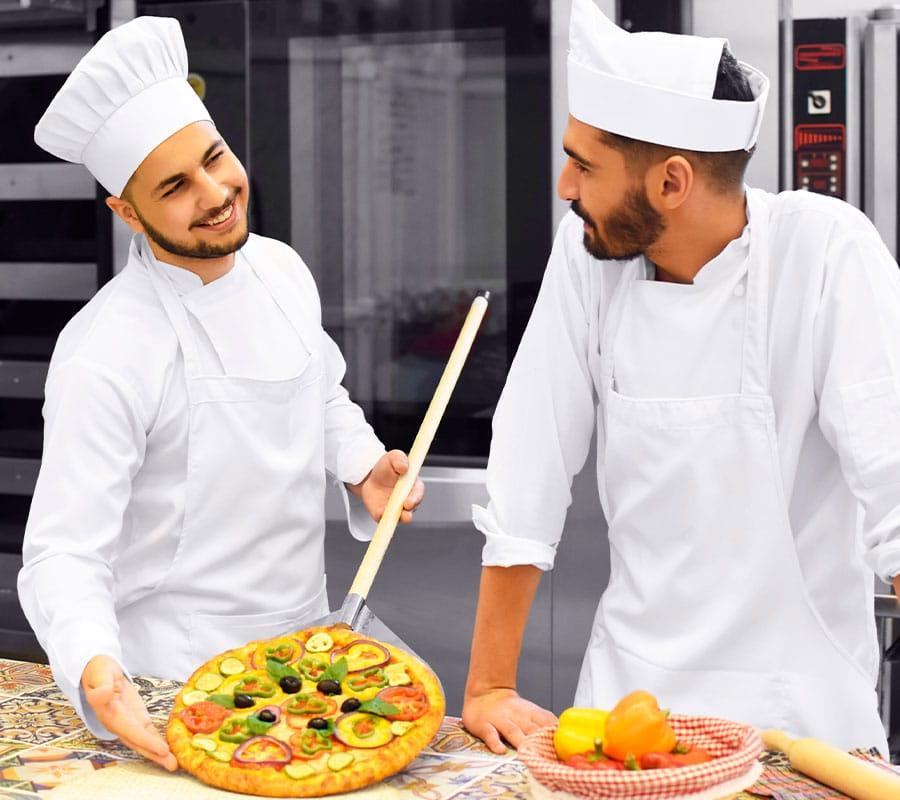 fabricant de pizza